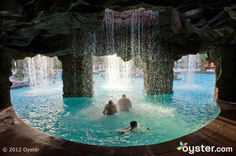 The main pool at the Flamingo Las Vegas