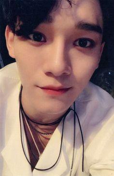 Chen - 160819 'Lotto' album photocard - Credit: 룽.
