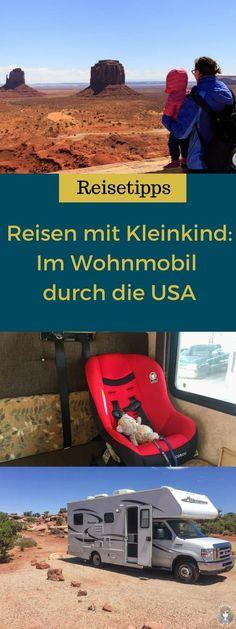 Was erwartet dich beim #Reisen mit #Kleinkind im #Wohnmobil durch die #USA? Unsere #Erfahrungen und #Tipps!