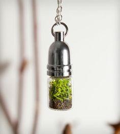 Cylinder Terrarium Necklace