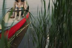 Engagement pics on a Canoe - Weddingbee-Boards