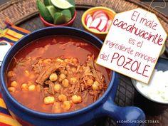 El maíz cacahuacintle es el ingrediente principal del pozole. SAGARPA SAGARPAMX #SomosProductores