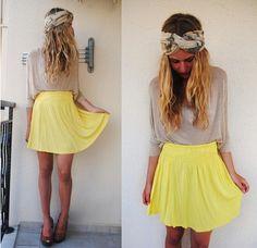 Yellow-Fashion