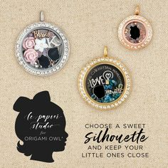Gorgeous Limited Edition Origami Owl Boy and Girl Silhouette Charms | Origami Owl Mother's Day Collection | Origami Owl | silhouette charms | jewelry | #origamiowl | #giftideas | #mothersday | #giftsformom