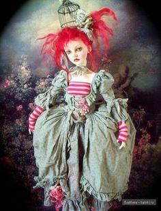 Art doll by Val Zeitler