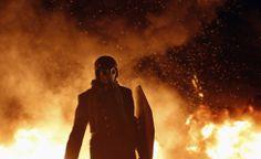 Scontri in Ucraina. Immagini delle manifestazioni contro il governo di Yanukovich a Kiev. Il 22 gennaio hanno causato 5 morti e centinaia di feriti.  (Reuters/Valentyn Ogirenko)