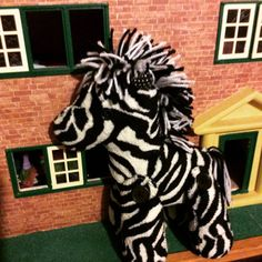 Keepsake Memory Zebra