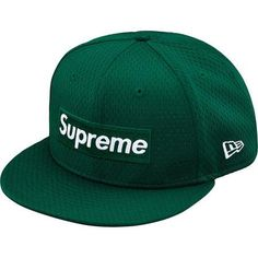 Supreme New Era Mesh Box Logo Cap Green 5686c31a457e