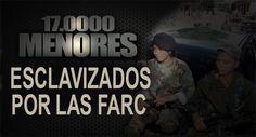 FARC Menores esclavizados