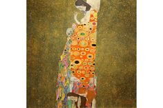 Shop Gustav Klimt The Hope II, Die Hoffnung II Poster created by CreativeArtSupply. Personalize it with photos & text or purchase as is! Gustav Klimt, Klimt Art, Canvas Art Prints, Painting Prints, Canvas Wall Art, Art Paintings, Art Nouveau, Artist And Craftsman, Ouvrages D'art