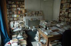 Le bureau de Charles Juliet (in Décapage#48)