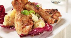 an exotic flavor combo with our Chili Rubbed Chicken Legs and a Garlic ...
