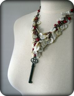 What a great jumping off point for a fabulous necklace.  Love it.