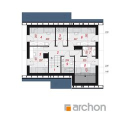 Dom w żurawkach 7 (T) Floor Plans, Floor Plan Drawing, House Floor Plans