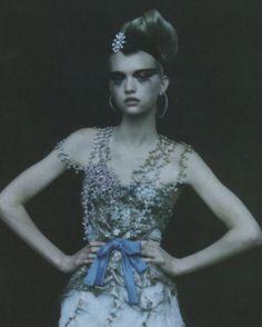 Gemma Ward by Paolo Roversi Vogue Italia