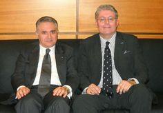 Il Consigliere diplomatico Raimondo VILLANO con l'imprenditore enogastronomico di Montecarlo Dr. Stephan CERNETICH DI MONTENEGRO (Roma, Casa dell'Aviatore, Circolo Ufficiali, 26 ott 2013);