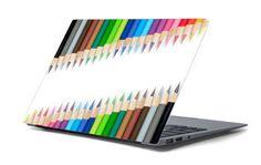 Naklejka na laptopa - Kolorowe kredki 4665