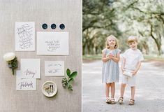 Summer Blueberry Wedding Inspiration in Savannah from Ashley Seawell Photography