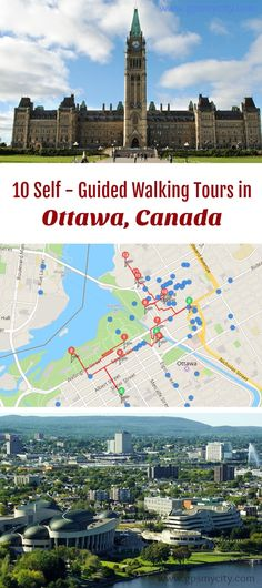 Follow these 10 expert designed self-guided walking tours in Ottawa, Canada to explore the city on foot at your own pace. Each walk comes with a detailed tour map and together they are the perfect Ottawa city guide for your trip.