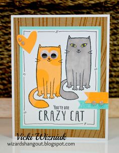 Crazy Cats by Wizard's Hangout CTMH August 2016 SOTM