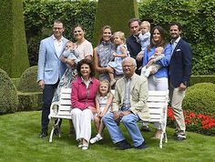 A gathering of the Swedish Royal Family