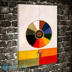 Colors Disc Tablo #geometrik_tablolar #geometrik_kanvas_tablolar