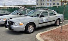 Rhode Island State Police Ford CVPI.