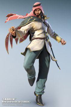 Tekken 7 Is Getting Series' First Saudi Arabian Character, 'Shaheen'