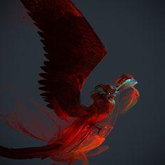 ArtStation - Phoenix Study!, Tyler Smith