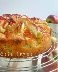 new Ideas fruit desserts cake cream cheeses Tart Recipes, Apple Recipes, Sweet Recipes, Baking Recipes, Dessert Recipes, Desserts, Bread Recipes, Sweet Pie, Russian Recipes