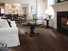 """Shaw Floors Ocala Maple Conway- 5"""". Smooth Engineered Maple hardwood floor. Dark floor, farmhouse floor"""