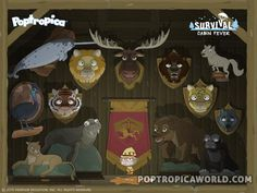 Poptropica Survival Island guide Cabin Fever http://poptropicaworld.com/survival-island-walkthrough-cheats-poptropica/