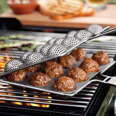 Grill Meatballs_Williams Sonoma