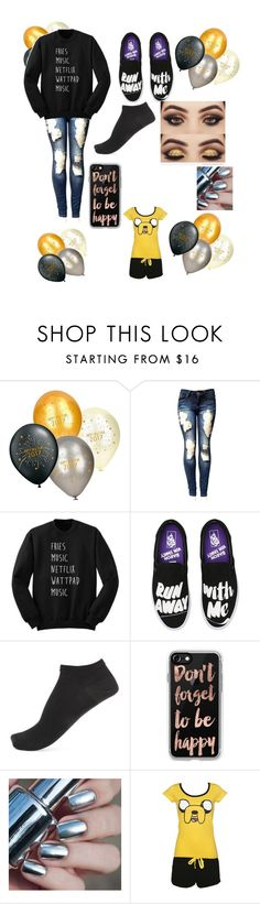 """""""NEW YEARS EVE 🎁🎉🎂"""" by mysticwolf101 ❤ liked on Polyvore featuring Vans, Wolford and Casetify"""