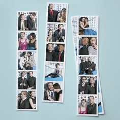 MADESQUARE photo strips! Everyone loves a good photo strip, and these are printed using real photo chemistry.