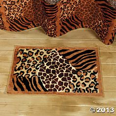 Leopard Print Bathroom On Pinterest Leopard Bathroom
