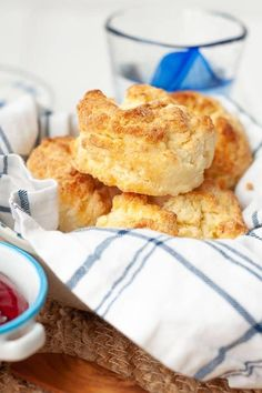 Vicki's favourite scone recipe, close up shot of a gluten free biscuit sitting in a bowl full of other biscuits Gluten Free Pie Crust, Gluten Free Biscuits, Gluten Free Recipes, Bread Recipes, Flourless Chocolate Cookies, Pastry Blender, Biscuit Recipe, Healthy Snacks, Baking