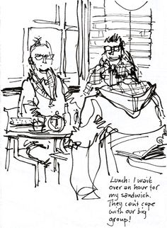 Lynne Chapman - An Illustrator's Life For Me!: Stockport Hat Museum with Urban Sketchers Yorkshire