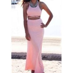 Two piece New. Light weight. Straps can be tied different ways Dresses