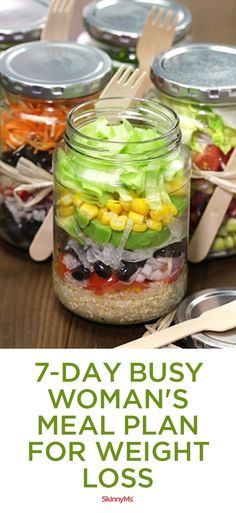 7-Day Busy Woman�s Meal Plan for Weight Loss