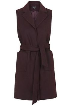 Sleeveless Belted Coat Price: 68,00 €