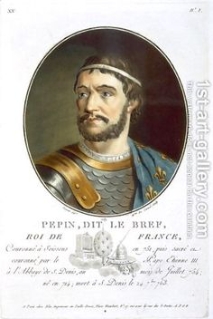 Pepin 'The Short' King of Neustria Mayor of the Palace discovered on Ancestry.com