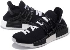 da5b7ae88 Adidas NMD Huhan Race Mens running shoes Black white S79167 6