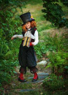 Costume chapelier fou- Carnaval