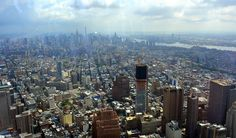 Views from One World Trade Center Observatory, NYC