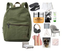 """""""Untitled #473"""" by emma-g333 ❤ liked on Polyvore featuring Herschel Supply Co., Peter Thomas Roth, Andalou, Hollister Co., Beats by Dr. Dre, Olympia and Jaipur"""