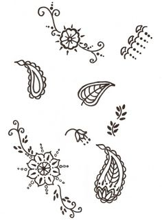 henna tutorial for beginners google search - Small Designs