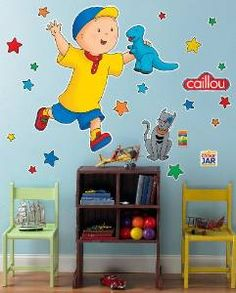 Caillou Wall Decal
