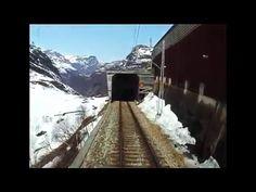 Flåmsbana - Cab Ride/Im Fürerstand, med El 17 2227 - YouTube