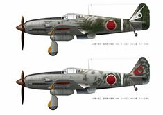 Ww2 Aircraft, Fighter Aircraft, Military Aircraft, Fighter Jets, Japanese Colors, Ww2 Planes, Army & Navy, Model Airplanes, Luftwaffe